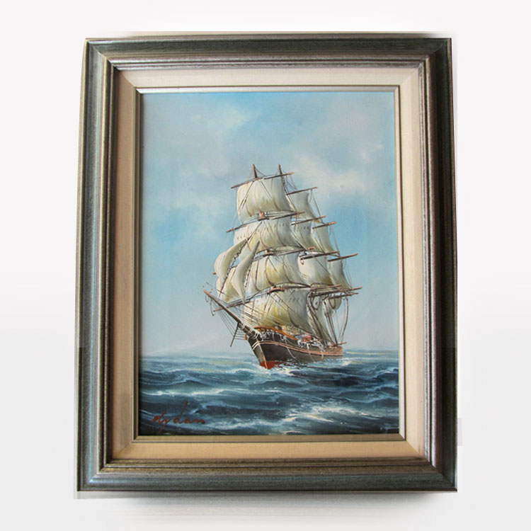 Original Ship Watercolor