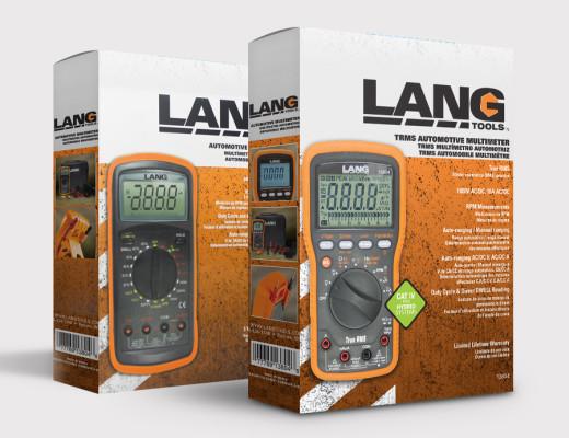 Lang Tools Packaging design