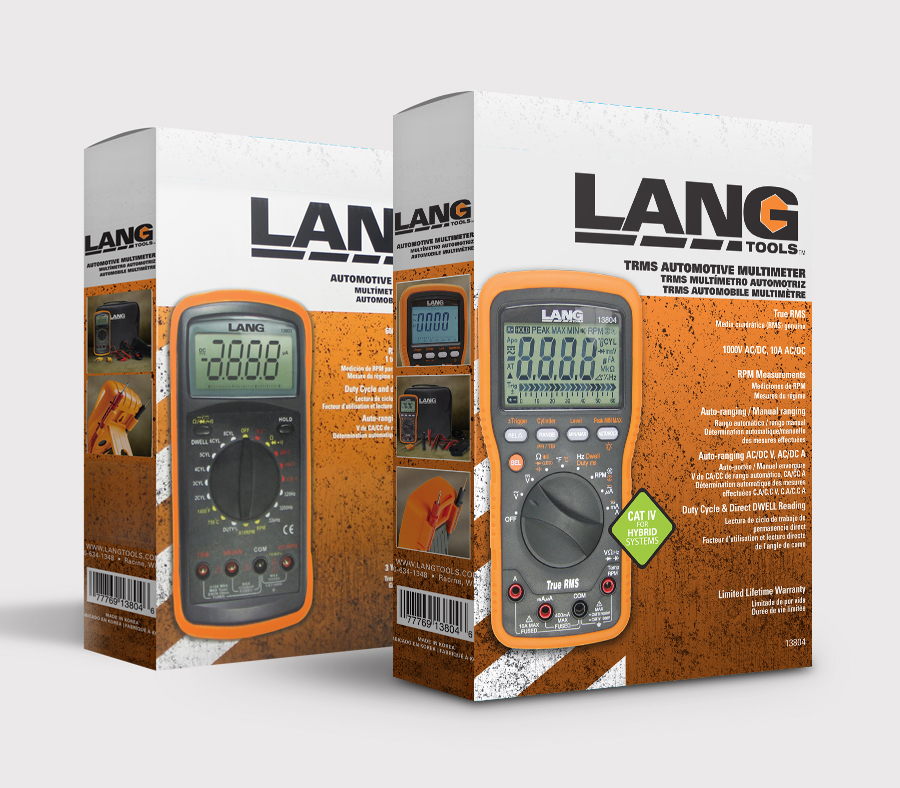 Lang Tools Packaging design